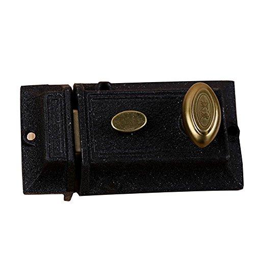 - BleuMoo Front Door Lock Nightlatch Rim Type Cylinder Standard Night Latch