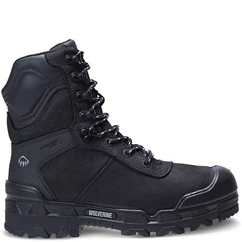 "Price comparison product image Wolverine Warrior Puncture Resistant CarbonMax 8"" Boot Men 10.5 Black"