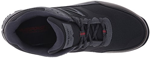 New Balance Mens MW669V1 Walking Shoe, Grey/Red, 10 D US Grey/Red
