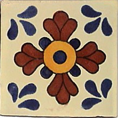 Amazon.com: 3 x 3 16 Pcs Sevilla mexicano de Talavera Tile ...