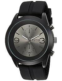 Kenneth Cole REACTION Men's 10030939 Sport Analog Display Japanese Quartz Black Watch