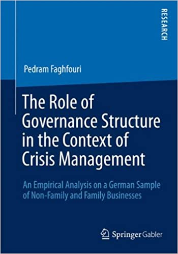 The Role of Governance Structure in the Context of Crisis Management: An Empirical Analysis on a German Sample of Non-Family and Family Businesses