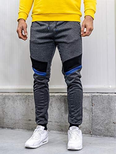 BOLF Hombre Pantalón De Chándal con Estampado Pantalones de ...