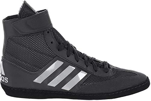 adidas Men's Combat Speed.5, Grey/EQT Yellow/Utility Black, 4 M US