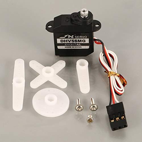 JX PDI-DHV56MG Mini Steering Torque Digital Metal Gear Coreless Servo forRCSmall Fixed Wing Airplane - Servo Speed Coreless
