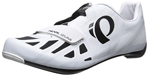 Pearl Izumi Men's Race RD IV Cycling Shoe, White/Black, 44 EU/10 D US