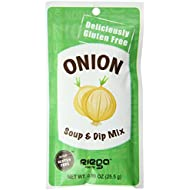 Riega Gluten Free Onion Soup and Dip Mix, 0.90 Ounce (Pack of 8)