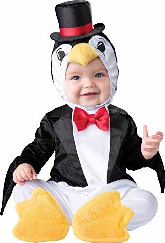 InCharacter Playful Penguin Boys Baby Costume - Medium -