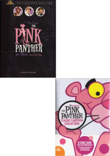 The Pink Panther Film Collection (Boxset) / The Pink Panther Classic Cartoon Collection (Boxset) (2 Pack) by