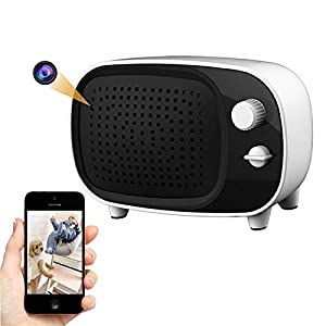 Wireless Hidden Camera Bluetooth Speaker