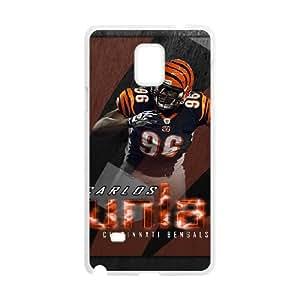 Cincinnati Bengals Samsung Galaxy Note 4 Cell Phone Case White DIY gift zhm004_8724106