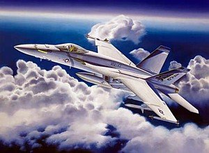Trumpeter 1/32 F/A18E Super Hornet Fighter Model Kit Super Hornet Model Kit