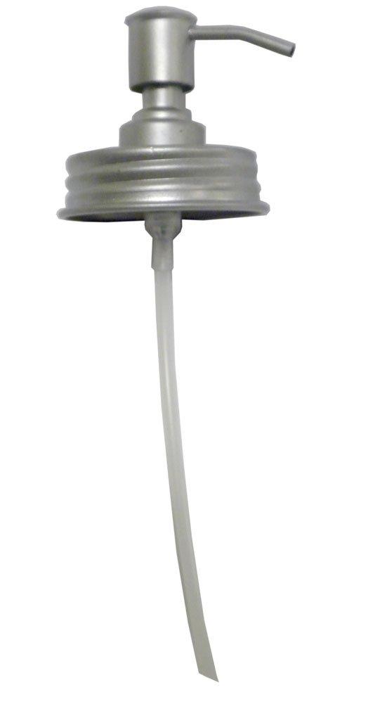 Creative Nickel Finish Pump and Metal Lid 6' DA2567