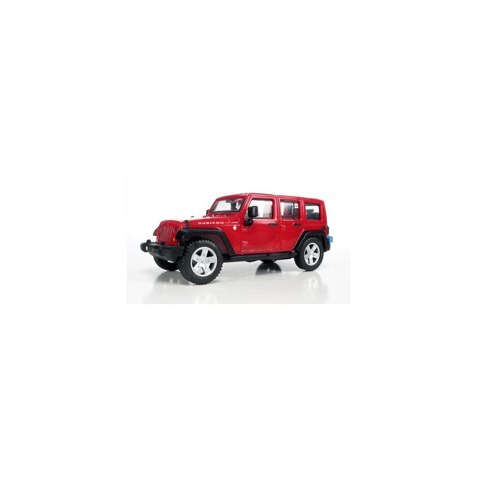 99087081 07 Jeep Wrangler Unlimited 4 Door Red HO