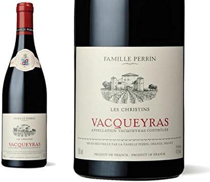 Famille Perrin- Les Christins, Vacqueyras (caja de 12). Rhone Valley/ Francia. Grenache/ Syrah. Vino Tinto.: Amazon.es: Alimentación y bebidas