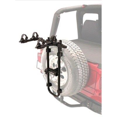 Hollywood Racks Bolt-On Spare Tire Rack, Black - Hollywood Bike Rack Adapter