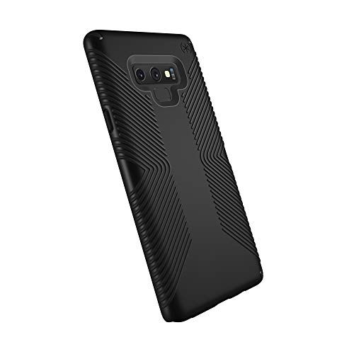 Speck Products Compatible Phone Case for Samsung Galaxy Note 9, Presidio Grip Case, Black/Black