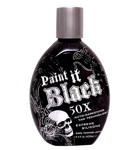 Millennium Tanning Paint It Black 50X,13.5 Oz (Best Lotion For Black Men)