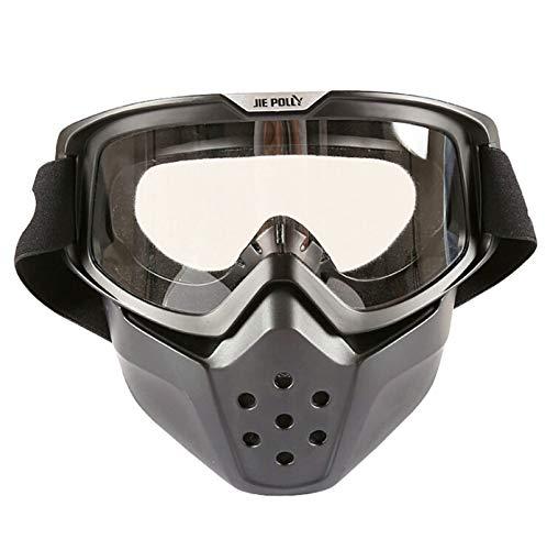 Gafas Negro Antivaho Beydodo de Unisex de de Seguridad Blanco Gafas Moto  Gafas Protectoras de Gafas ... fffce2d6a46c