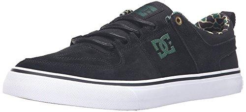 保守可能言い訳符号DC Lynx Vulc SE Skate Shoe Black Camouflage 12 M US [並行輸入品]