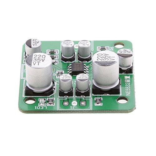 MonkeyJack NE5532 Amplifier Module Board 4558 LM833 LT1057 AD827 OPA2604