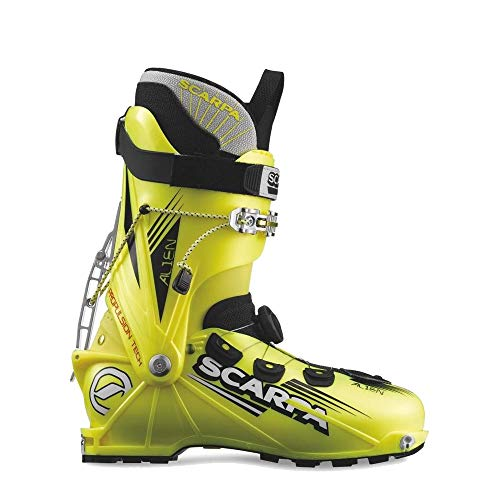 Scarpa Unisex Alien Ski Boots Yellow 29