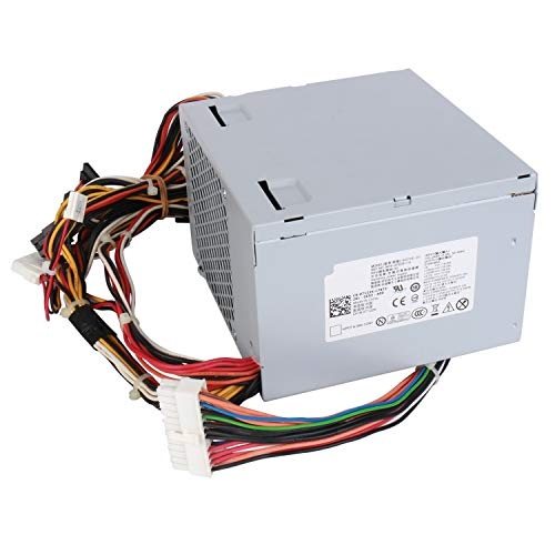 YEECHUN N375P-00 L375P-00 375W Power Supply Replacement for Dell Dimension 9100 9150 9200 E510 E520 XPS 400 410 420 430 Precision Workstation 380 390 T3400 Desktop (DT) Systems N375E-01 KH624 K8956