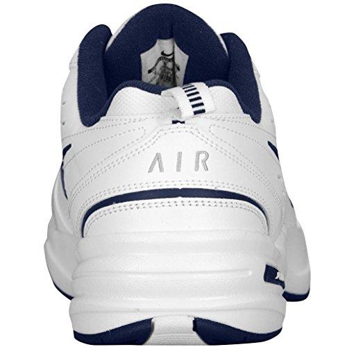 Monarch Wide White Shoe Nike 0 Black White Navy Metallic US Men's midnight Air Athletic IV 4E 14 Silver qffwPnOgE1