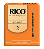 Rico Bb Clarinet Reeds, Strength 2.0, 10-pack, Best Gadgets