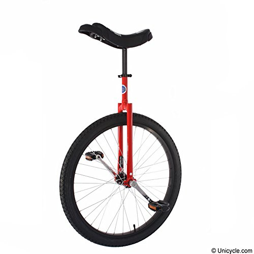 """Price comparison product image Club 26"""" Freestyle Unicycle - Red"""