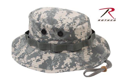 (Rothco Rip Stop Boonie Hat, ACU Digital,)