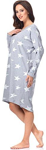 Bianco 0115 Donna per IF Star Notte da Melange Fashion Camicia Italian vO8qFF