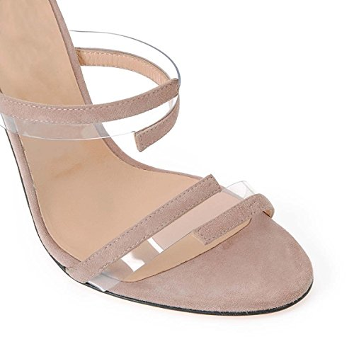 Chaussures Haute De 2 PVC Pour À Femmes Femmes Banquet Pour Et Hauts Talons Américaines Européennes GONGFF En Couture Chaussures De Aw1ZAd