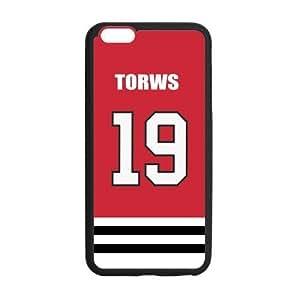 Tt-shop Custom Chicago Blackhawks Jonathan Toews 19 Phone Case Cover For iPhone6 Plus 5.5