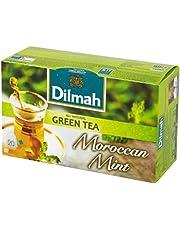 اكياس شاي اخضر بالنعناع المغربي من دلما - 20 كيس
