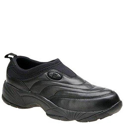 Propet Mens Laver & Porter Slip-on Ii Chaussure & Oxy Bundle Nettoyeur Noir