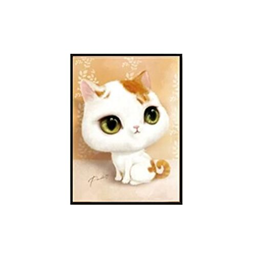 super1798 5D DIY Cartoon Cat Pattern Diamond Painting Embroidery Cross Stitch Wall Art Craft - 1#