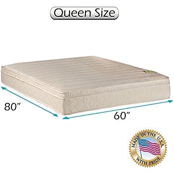 Amazon Com Comfort Pedic Extra Firm Pillow Top Eurotop