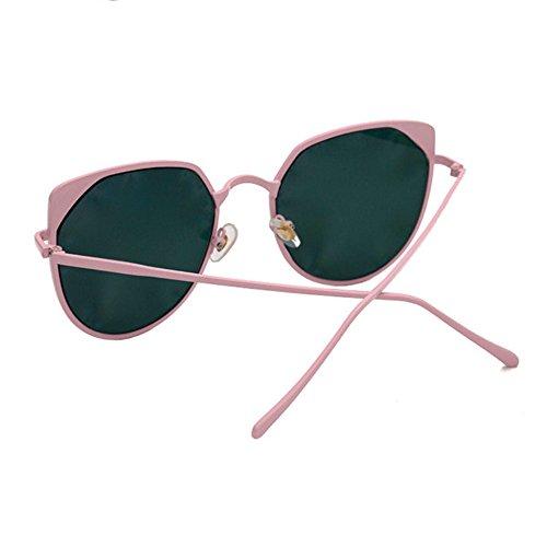Aoligei Lunettes de soleil polarisées dames européennes et verres américains lunettes de soleil métal hommes 8nACU