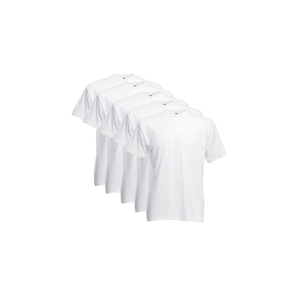 Fruit of the Loom T Shirts 5er Pack