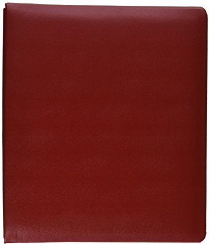 (Pioneer Photo Albums 20-Page Family Treasures Deluxe Red Bonded Leather Cover Scrapbook for 8.5 x 11-Inch Pages)