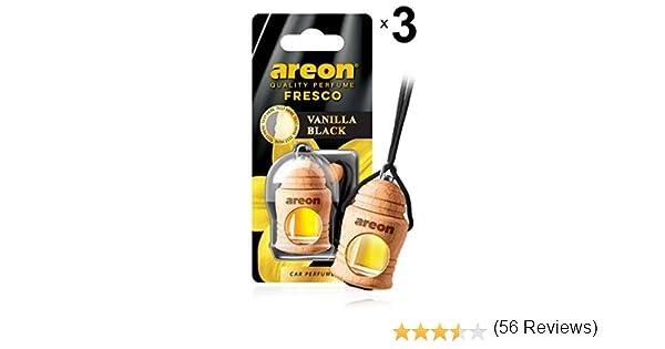 Amazon.es: AREON Fresco Ambientador Vainilla Negra Coche Olor ...