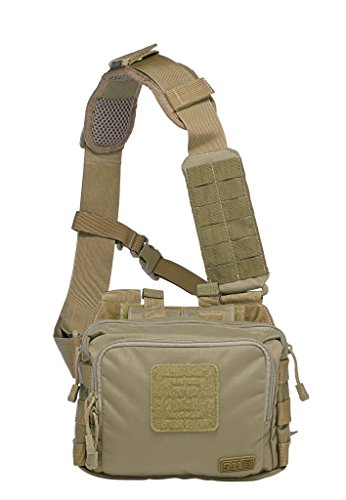 5.11 Tactical 2-Banger Bag, Weatherproof, Gun Concealment, Multiple Magazine Storage, Style 56180 ()