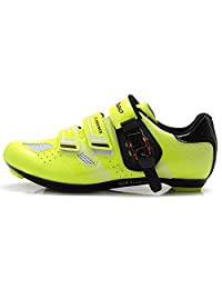 Tiebao Ultralight Road Bicycle Shoes Men Breathable Self-locking Cycling Sneakers