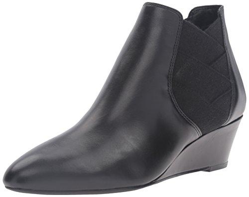 Via Spiga Women's V-Harlie Ankle Bootie - Black - 5 B(M) US