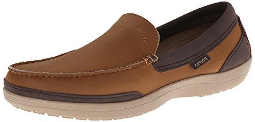 Crocs Mens Wrap ColorLite Loafer Hazelnut/Espresso SgM6w