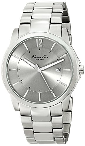 (Kenneth Cole New York Men's KC3915 Iconic Stainless Steel Watch)