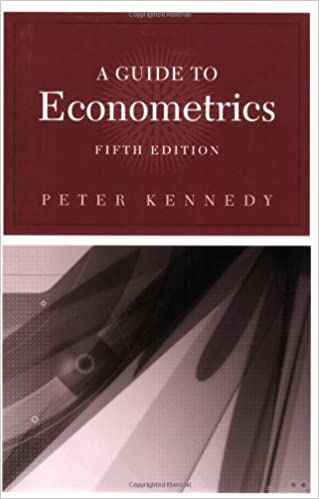 A guide to econometrics 5th edition mit press 9780262611831 a guide to econometrics 5th edition mit press 5th edition fandeluxe Gallery