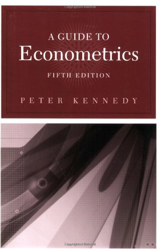 A Guide to Econometrics, 5th Edition (The MIT Press)