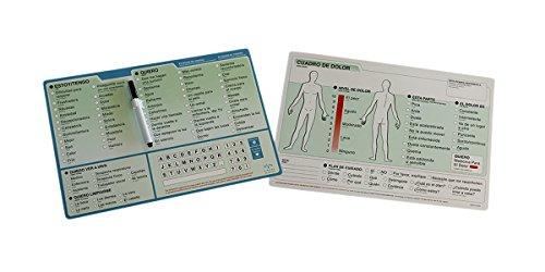 EZ Board Vidatak Patient Communication Board, Spanish by EZ Board by Vidatak